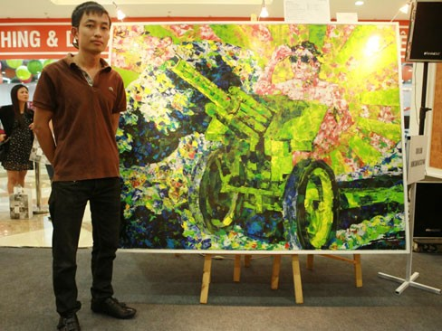 Họa sĩ Nguyễn Đình Vũ và tác phẩm Những Giấc Mơ được rất nhiều người yêu thích