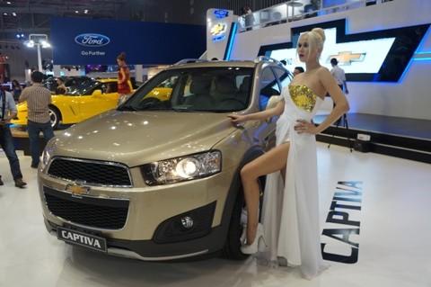 GM ra mắt Chevrolet Captiva mới - ảnh 1