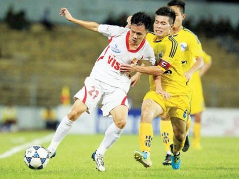 Cả V.Ninh Bình (trái) lẫn V.Hải Phòng đều chưa đăng ký tham dự mùa giải mới dù sắp hết thời hạn đăng ký. ảnh: VSI