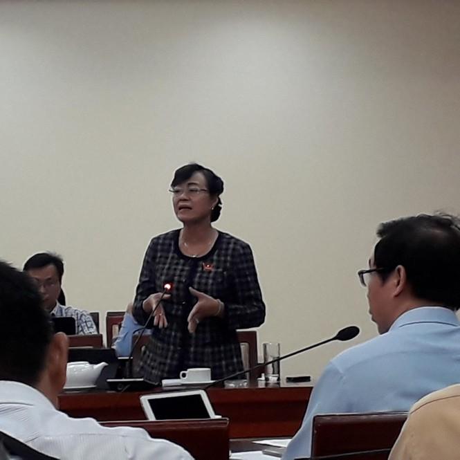 Bà Nguyễn Thị Quyết Tâm đề xuất giải tỏa nhà tạm cư ở Thủ Thiêm  - ảnh 1