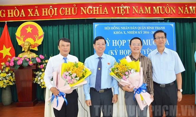 Ông Đinh Khắc Huy được bầu làm Chủ tịch UBND Quận Bình Thạnh - ảnh 1