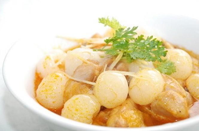 Món ăn thơm ngon từ vải thiều - ảnh 8