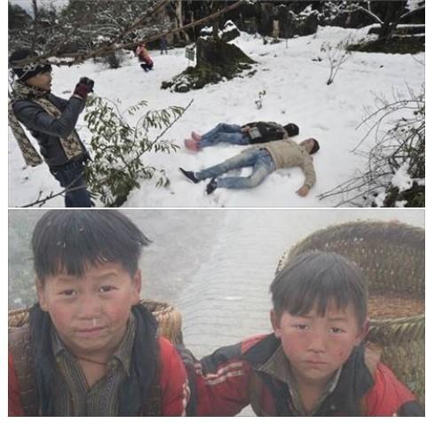 Nghịch cảnh băng tuyết: Dân phượt reo hò, nông dân khóc - ảnh 1