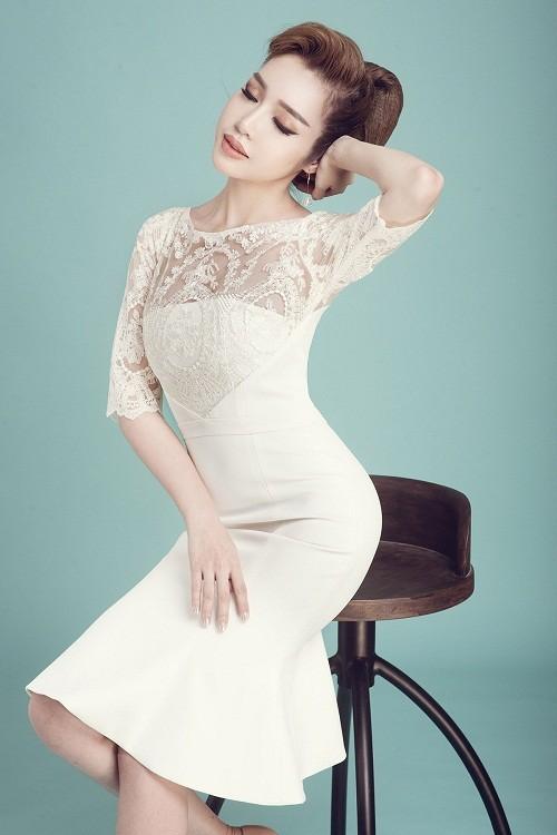 Elly Trần khoe vẻ đẹp 'gái hai con' - ảnh 2