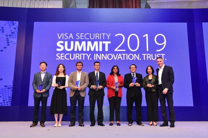 Vietcombank vinh dự nhận giải thưởng 'Champion Security Award'  - ảnh 1