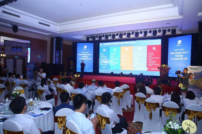 VNPT giới thiệu các giải pháp chuyển đổi số tới các cơ quan bộ, ngành - ảnh 2