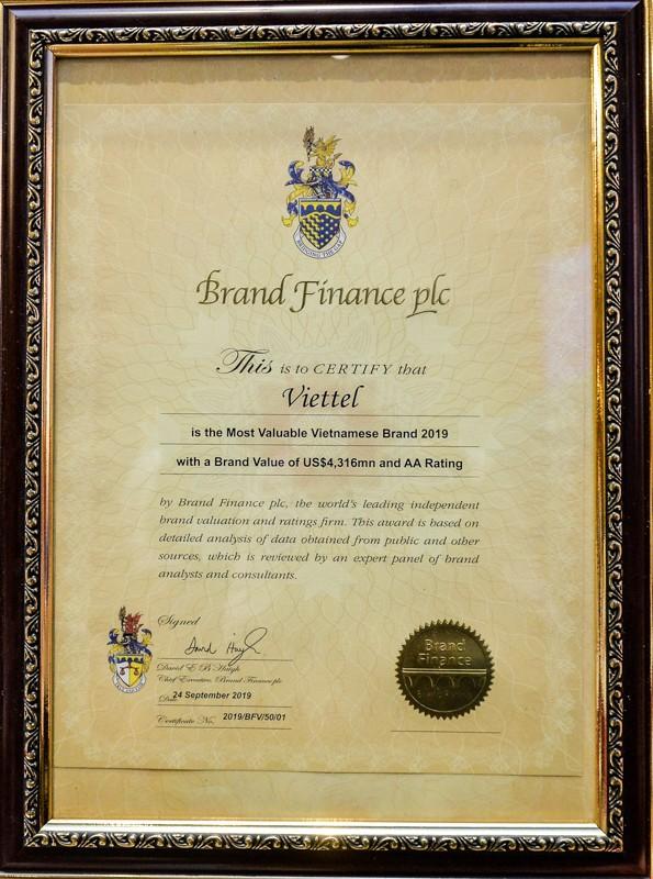 Viettel liên tục lọt Top thương hiệu giá trị nhất VN, được định giá 4,3 tỷ USD - ảnh 2