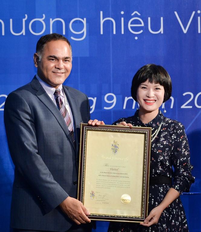 Viettel liên tục lọt Top thương hiệu giá trị nhất VN, được định giá 4,3 tỷ USD - ảnh 1