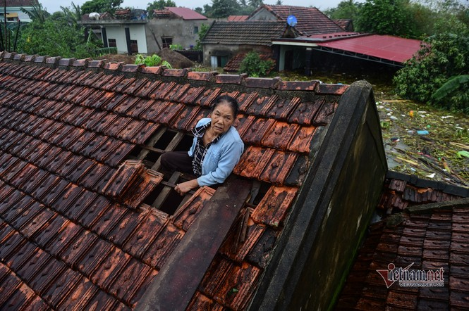 Lũ lớn lịch sử ở Quảng Bình, người dân leo nóc nhà chờ ứng cứu - ảnh 2