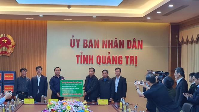 C.P. Việt Nam với chuỗi hoạt động 'hướng về miền Trung yêu thương' - ảnh 4