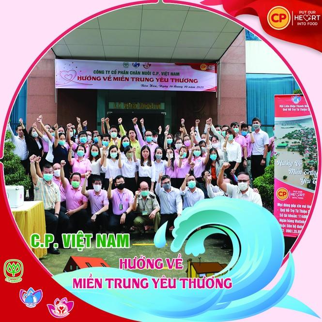 C.P. Việt Nam với chuỗi hoạt động 'hướng về miền Trung yêu thương' - ảnh 1