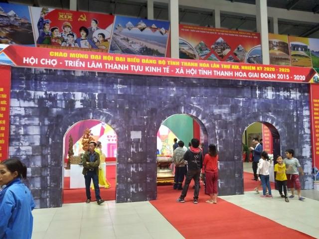 Hội chợ - triển lãm thành tựu kinh tế - xã hội tỉnh Thanh Hoá - ảnh 2