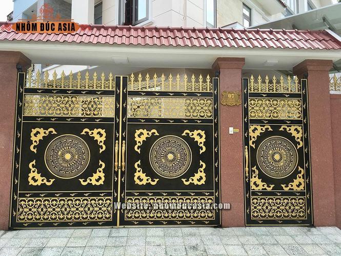 Nhôm đúc Asia – Dịch vụ thiết kế sản xuất cổng nhôm đúc uy tin chất lượng - ảnh 1
