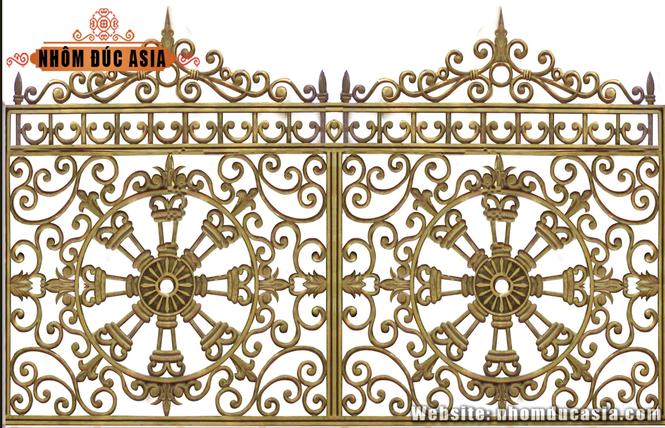 Nhôm đúc Asia – Dịch vụ thiết kế sản xuất cổng nhôm đúc uy tin chất lượng - ảnh 2