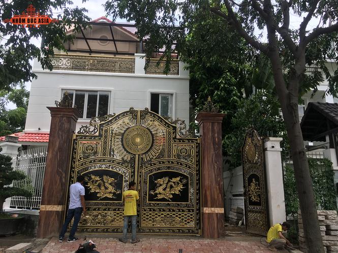 Nhôm đúc Asia – Dịch vụ thiết kế sản xuất cổng nhôm đúc uy tin chất lượng - ảnh 4