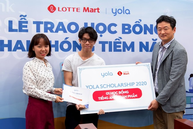 Lotte Mart và Yola trao học bổng khai phóng tiềm năng trị giá gần 180 triệu đồng - ảnh 1