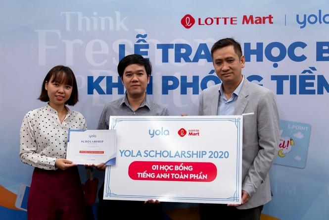 Lotte Mart và Yola trao học bổng khai phóng tiềm năng trị giá gần 180 triệu đồng - ảnh 2