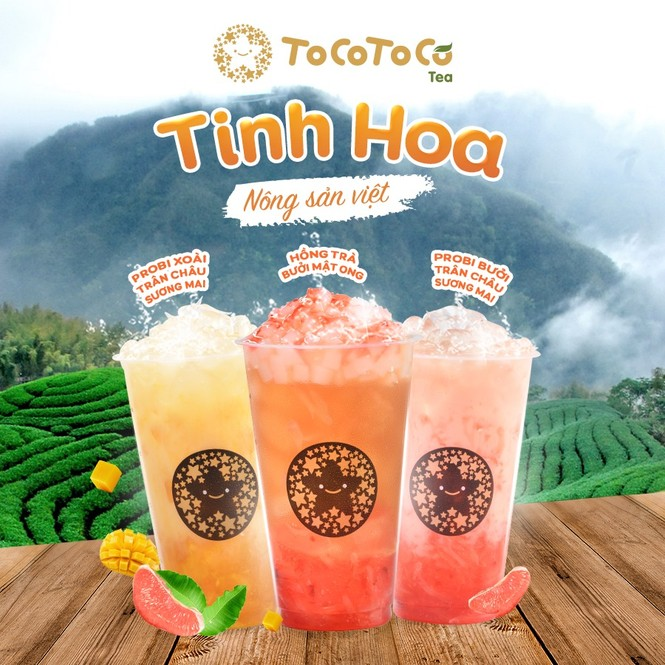 ToCoToCo - Thương hiệu trà sữa đầu tiên của Việt Nam mang hơi hướng 'Xanh- Sạch-Đẹp'  - ảnh 3