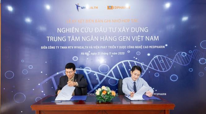 Medpharin và My Health nghiên cứu, phối hợp triển khai Trung tâm Ngân hàng Gen Việt Nam - ảnh 1