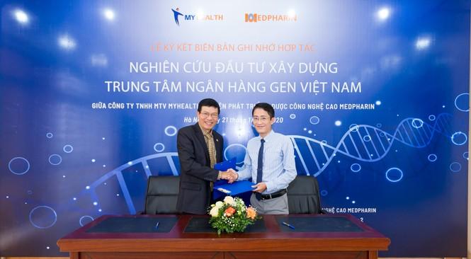 Medpharin và My Health nghiên cứu, phối hợp triển khai Trung tâm Ngân hàng Gen Việt Nam - ảnh 2