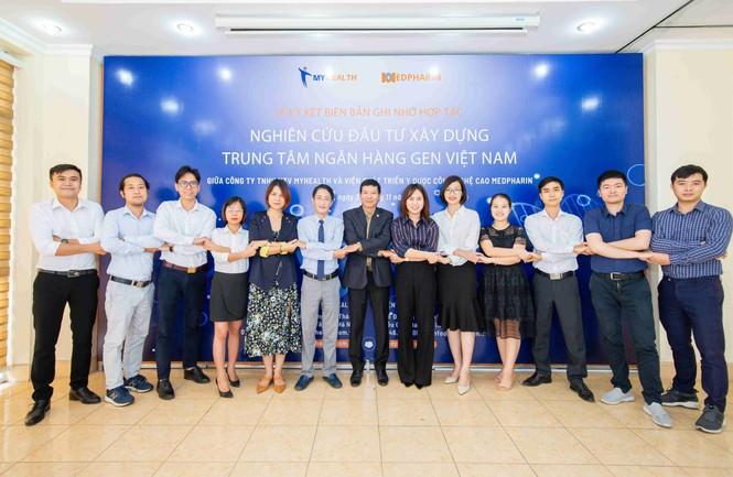 Medpharin và My Health nghiên cứu, phối hợp triển khai Trung tâm Ngân hàng Gen Việt Nam - ảnh 3