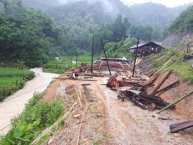 Thanh Hóa nhiều nơi lại ngập lụt, thiệt hại do mưa bão số 4 - ảnh 1
