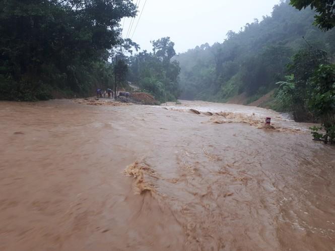Thanh Hóa nhiều nơi lại ngập lụt, thiệt hại do mưa bão số 4 - ảnh 2