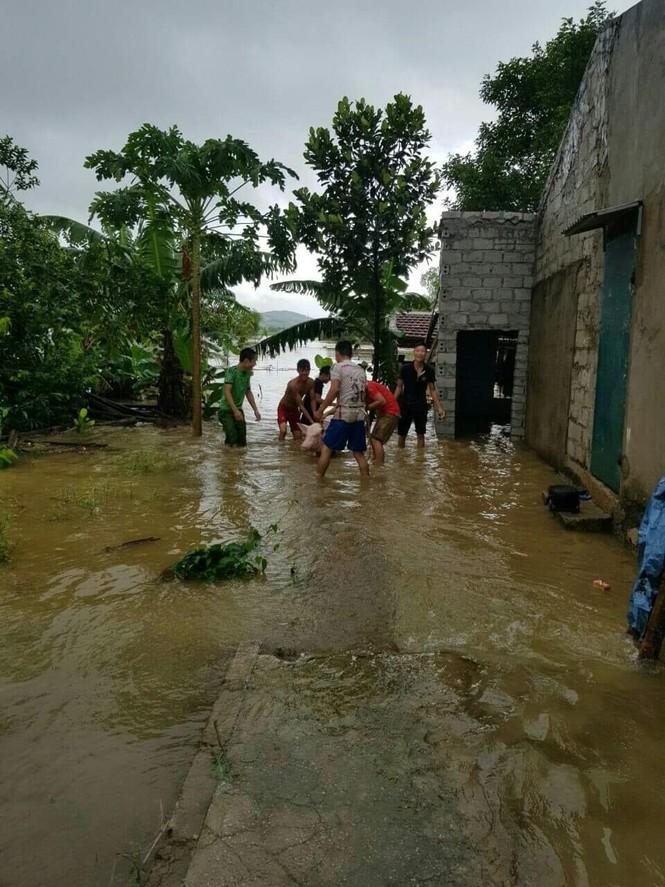 Thanh Hóa nhiều nơi lại ngập lụt, thiệt hại do mưa bão số 4 - ảnh 3
