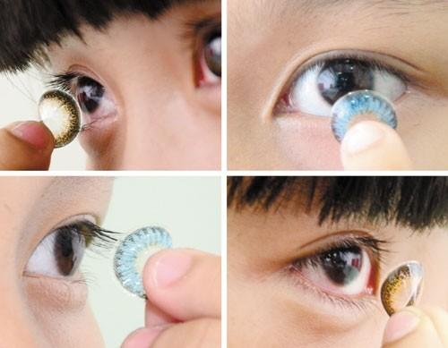 Làm đẹp mắt nhờ kính áp tròng: Độc + Lạ + Đẹp + Rẻ = Mù mắt - ảnh 4