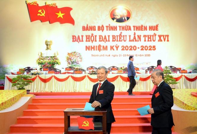 Ông Lê Trường Lưu tái đắc cử Bí thư Tỉnh ủy Thừa Thiên-Huế khóa XVI - ảnh 1