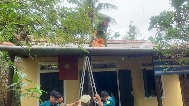 Người dân Huế không được ra khỏi nhà từ 21h tối 27/10 để tránh bão - ảnh 6