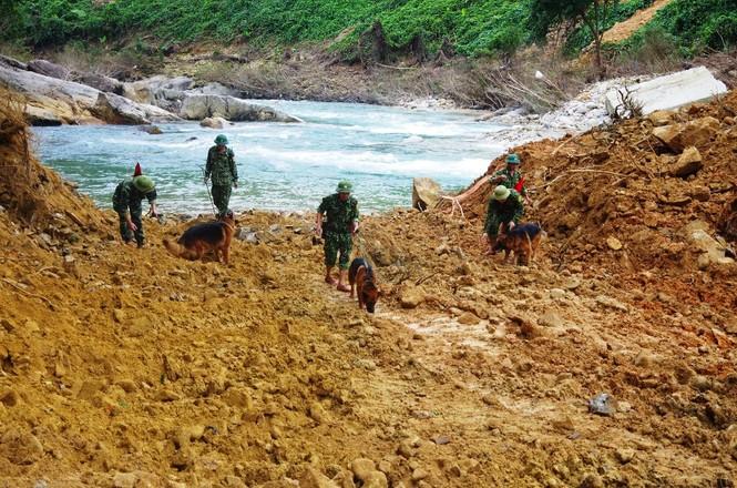 Nhìn gần 'dòng sông mới' Rào Trăng vừa nắn chỉnh để tìm nạn nhân mất tích  - ảnh 14