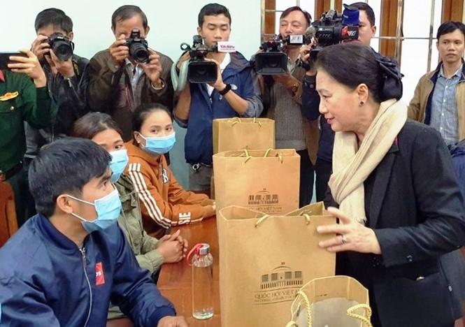 Chủ tịch Quốc hội làm việc tại Quảng Nam - ảnh 3
