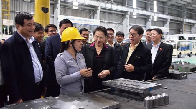 Chủ tịch Quốc hội làm việc tại Quảng Nam - ảnh 1