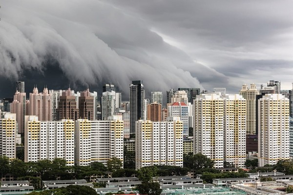 """Những đám mây """"ma quái"""