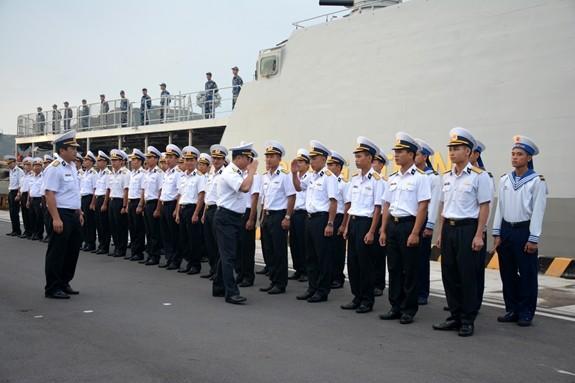 Tàu hộ vệ tên lửa 016-Quang Trung sang Nga dự duyệt binh hải quân - ảnh 1