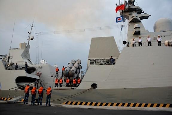 Tàu hộ vệ tên lửa 016-Quang Trung sang Nga dự duyệt binh hải quân - ảnh 2