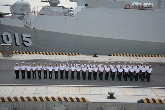 Tàu hộ vệ tên lửa 016-Quang Trung sang Nga dự duyệt binh hải quân - ảnh 3