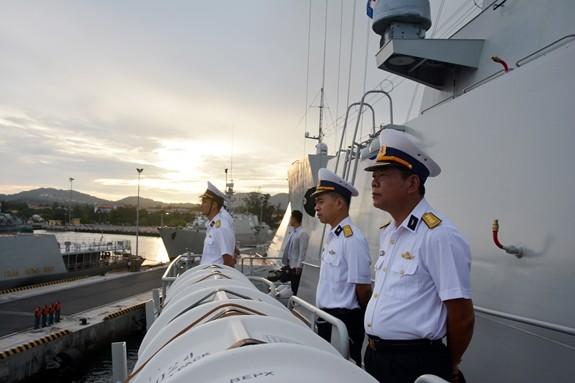 Tàu hộ vệ tên lửa 016-Quang Trung sang Nga dự duyệt binh hải quân - ảnh 4
