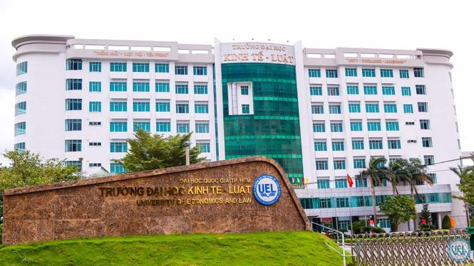 Điểm chuẩn ĐH Kinh tế - Luật (TP.HCM): thấp nhất 23 điểm, cao nhất 9,15 điểm/môn - ảnh 1
