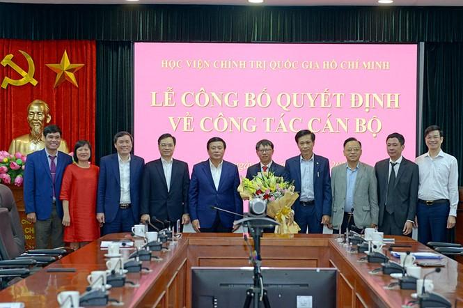 Điều động, bổ nhiệm nhân sự Học viện Chính trị Quốc gia Hồ Chí Minh - ảnh 1