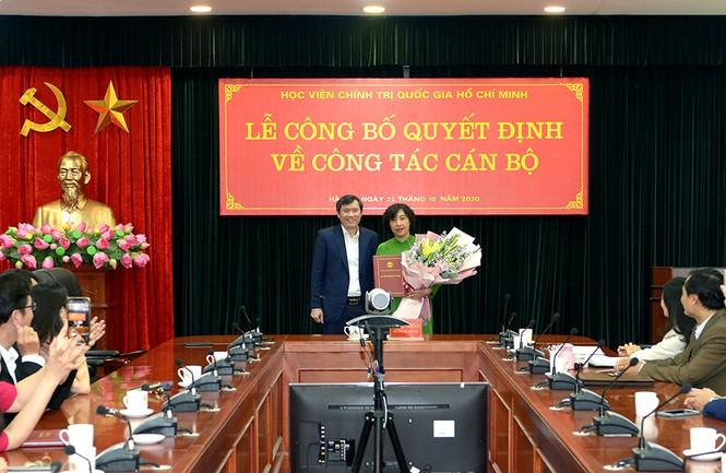 Điều động, bổ nhiệm nhân sự Học viện Chính trị Quốc gia Hồ Chí Minh - ảnh 4