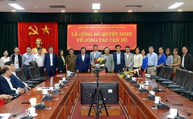 Điều động, bổ nhiệm nhân sự Học viện Chính trị Quốc gia Hồ Chí Minh - ảnh 3