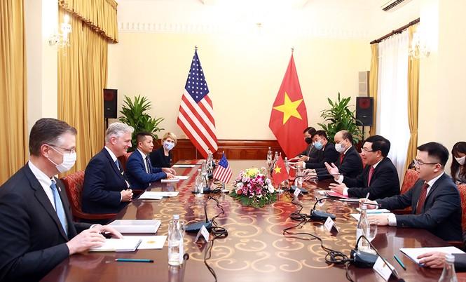 Quan hệ Việt Nam-Hoa Kỳ tiếp tục phát triển mạnh mẽ - ảnh 1