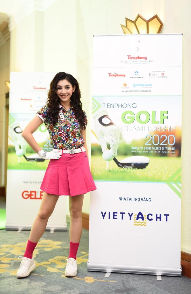 Người đẹp Lê Thanh Tú: 'Cuộc sống tích cực hơn nhờ golf' - ảnh 10
