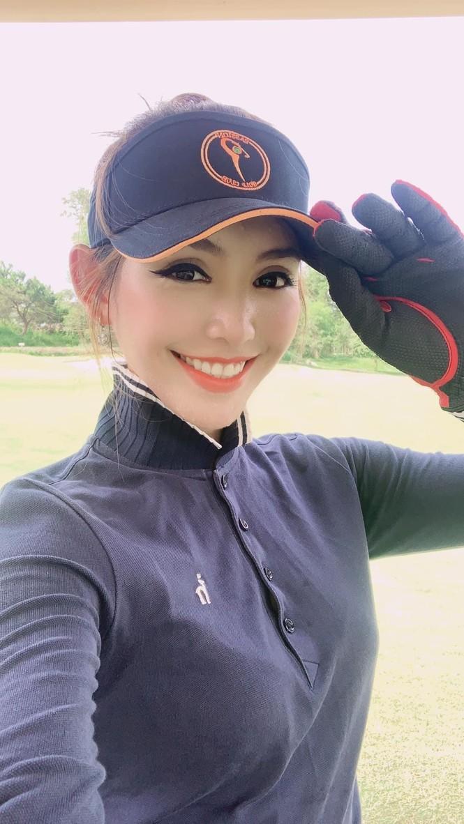 Người đẹp Lê Thanh Tú: 'Cuộc sống tích cực hơn nhờ golf' - ảnh 6