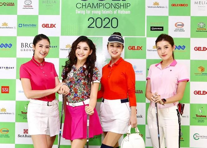 Người đẹp Lê Thanh Tú: 'Cuộc sống tích cực hơn nhờ golf' - ảnh 1