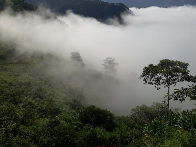 Phượt thủ mê mẩn vẻ đẹp mây phủ trên núi Cổng trời Quản Bạ - ảnh 10