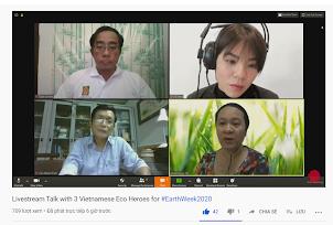 Kỉ niệm ngày Trái Đất 2020 sôi động trong cách ly với Helly Tống và đại học RMIT Việt Nam - ảnh 2