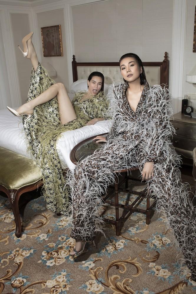 Thanh Hằng, Hà Hồ xuất hiện cực đẳng cấp trên VOGUE Pháp trong trang phục Công Trí - ảnh 4